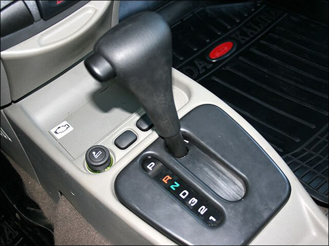 Автоматическая коробка перемены передач