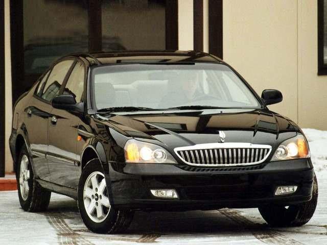 Автомобиль Дэу Магнус в черном цвете