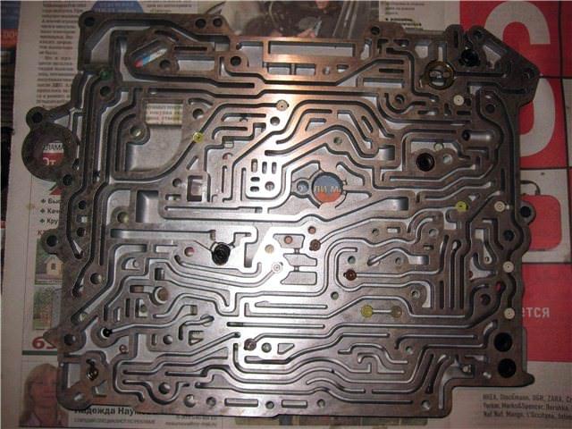 Гидроблок ZF5HP19
