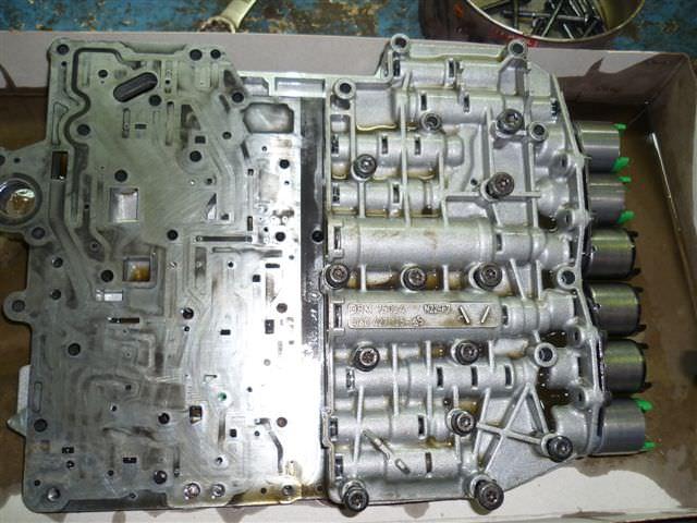Гидроблок ZF 5HP19